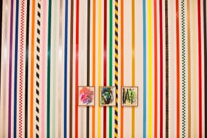 Martin Creed: Striped walls abd paintings