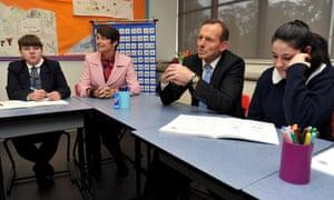 Tony Abbott private school
