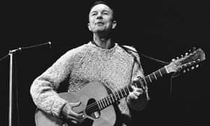 Pete Seeger, the American folk musician, has died at the age of 94.