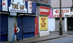 Blackpool striptease and lap dancing bar