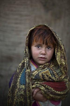 Four-year-old Safia Mourad.