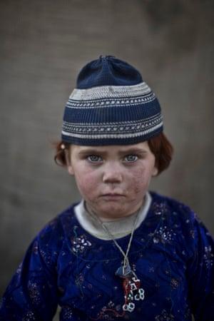 Three-year-old Basmina