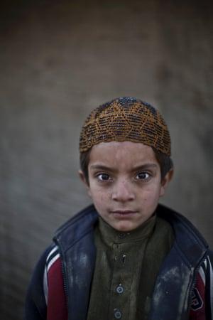 Six-year-old Allam Ahmad