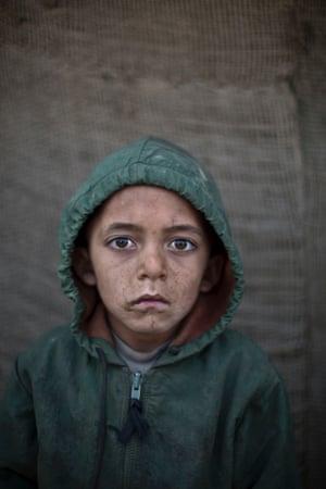 Six-year-old Waheed Wazir