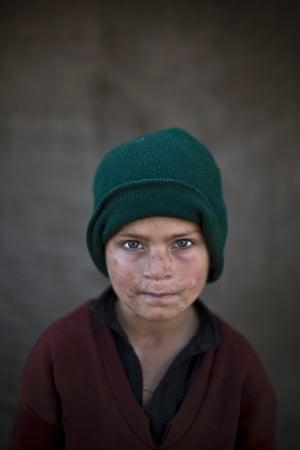 Seven-year-old Hazrat Babir