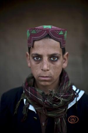 13-year-old Akhtar Babrek