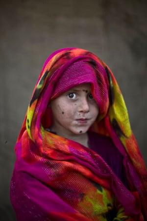 Five-year-old Robina Haseeb