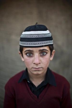 Eight-year-old Hayat Khan