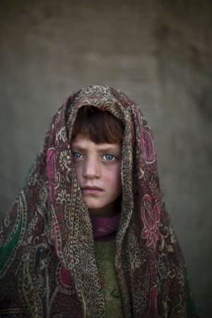 Six-year-old Naseebah Zarghoul