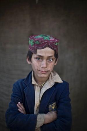 Eight-year-old Ibraheem Rahees