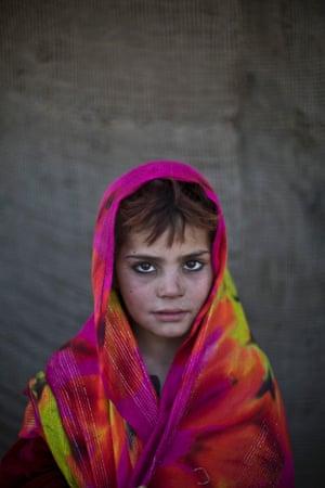 Seven-year-old Nazmina Bibi