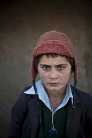 Twelve-year-old Awal Gul