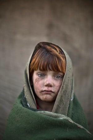 Six-year-old laiba Hazrat.