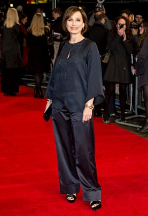 Kristin Scott Thomas at The Invisible Woman premiere