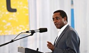 Rwanda education minister Vincent Biruta