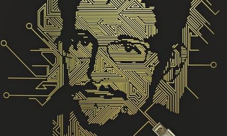 Edward Snowden illustration