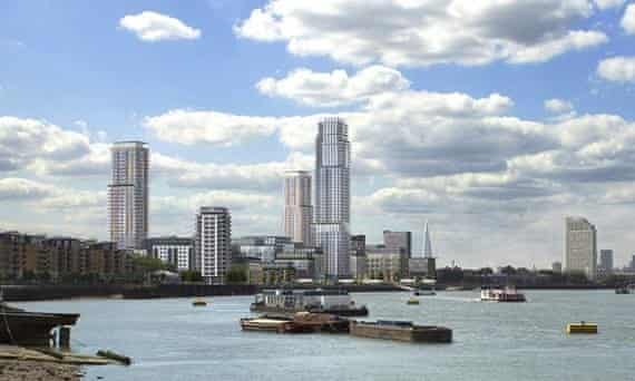 Unreasonable and unwarranted? … Proposals for Convoys Wharf in Deptford.