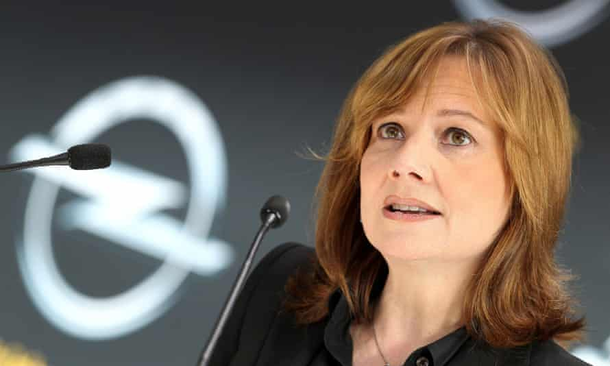 Mary Barra, new CEO of US carmaker General Motors.