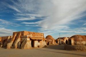 Africa, Tunisia, Nefta, Sahara Desert, Ong El Djemel, Star Wars Movie Set