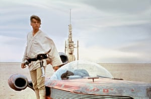 Mark Hamill as Luke Skywalker in the film 'STAR WARS: EPISODE IV - A NEW HOPE' (1977)