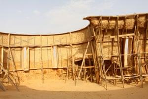The props used for the Star Wars still stand near Matmata in Tunisia.