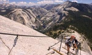 Half dome cables, Yosemite