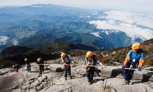 At 4095m, Mount Kinabalu is Malaysia's highest mountain. The Mountain Torq Via Ferrata, which is situated just below the summit is the highest of its kind in the world. Still, it's also one of the world's most accessible peaks to climb and many tourists make the high altitude trek to the top.