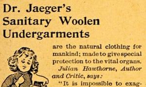 Jaegers Sanitary Wollen undergarments