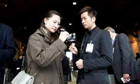 Chinese wine buyer in France
