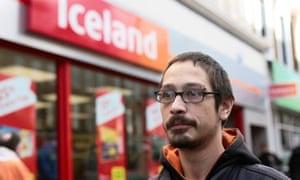 Paul May outside Iceland