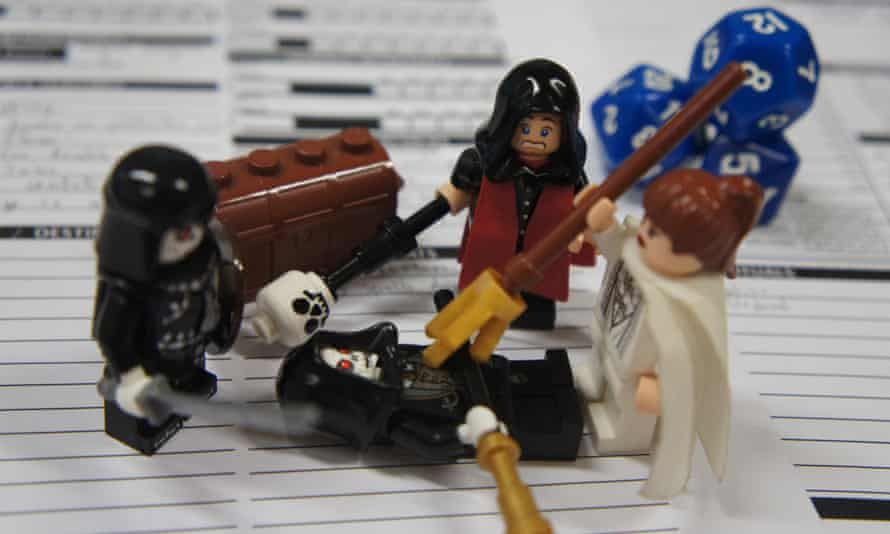 Dungeons and Dragons in Lego form. Photograph: Flickr