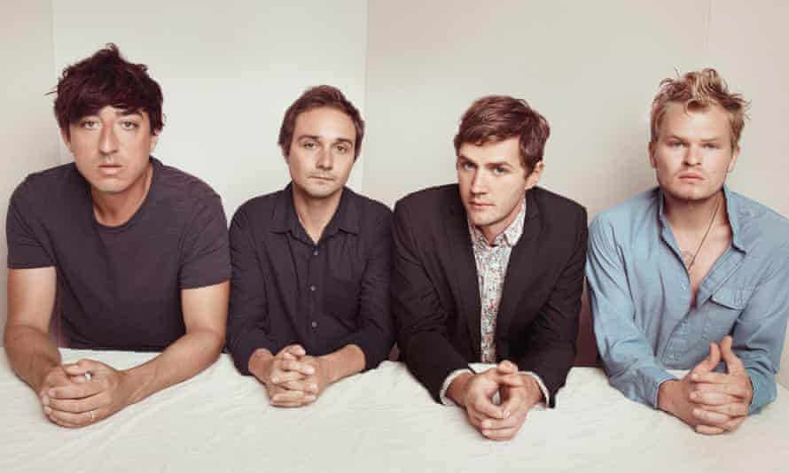 Grizzly Bear, with founder Ed Droste on the left
