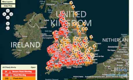 Environment Agency flood warnings, 3.1.14.