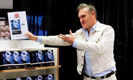 Morrissey autobiography book signing