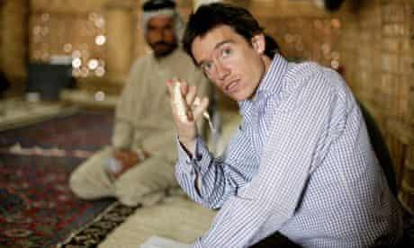 Rory Stewart in Iraq in 2004