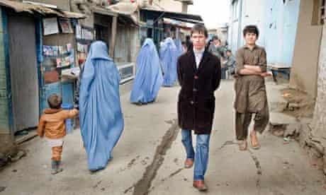Rory Stewart in Kabul, Afghanistan in 2009