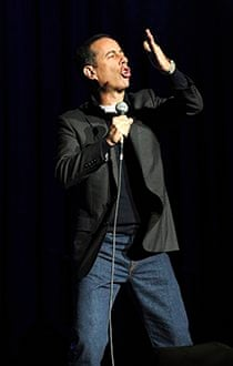 Jerry Seinfeld on stange in NEw York inm 2013.