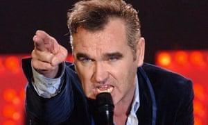 Former Smiths frontman Morrissey