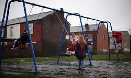 Children in Gorton, Manchester