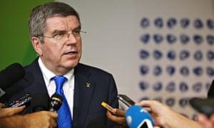 Thomas Bach, the IOC president