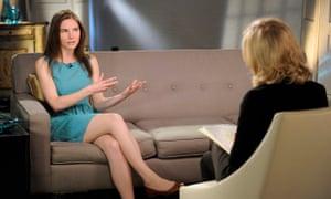 Amanda Knox TV interview