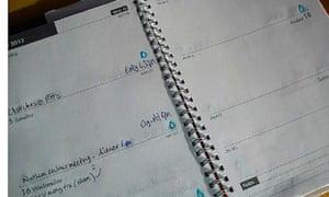 Paul Fernandez Rain Diary Manchester