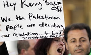 Kerry protest in Jordan