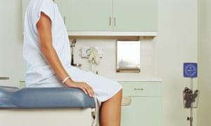 doctors office visit woman