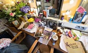 Lisa Dwan dressing room