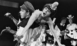 Rehearsal for the musical Oh What a Lovely War in 1963