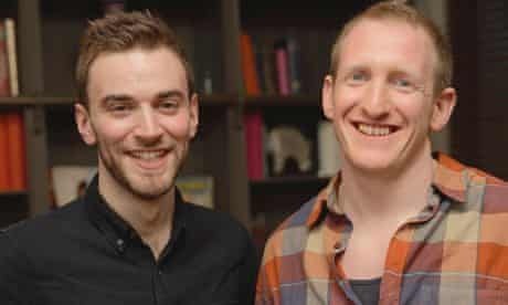 Jonny Benjamin (left) and Neil Laybourn