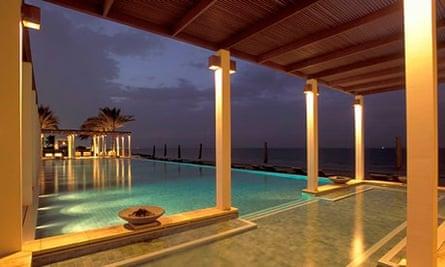 Luxury resort, Oman