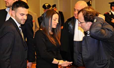 Lyle Kercher, Stephanie Kercher and Francesco Maresca