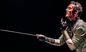 Tom Hiddleston as Coriolanus at the Donmar